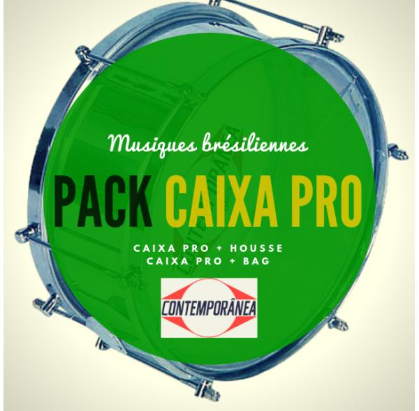 """Pack Caixa guerra Contemporânea 12"""" x 15 cm - Ligne pro et housse deluxe - Roots"""