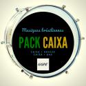"""Pack Caixa aluminium Guerra 12"""" x 15 cm Gope et housse deluxe - Roots"""