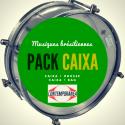 """Pack Caixa guerra 12"""" x 15 cm - Contemporanea Light 4T + Roots Bag"""