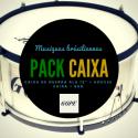 "Pack 12"" Caixa Alu Clangor Black Hoop Gope + Deluxe bag Roots Percussions"