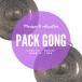 """Pack Gong nord-vietnamien 16"""" et housse deluxe - Roots"""