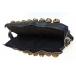 Bracelet de cheville (3 rangées sur cuir avec boucle) - La paire