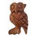 Wooden owl bird calls and sounds - 10 cm
