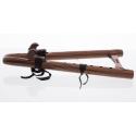 Native Flute Double Kestrel (D) - Walnut