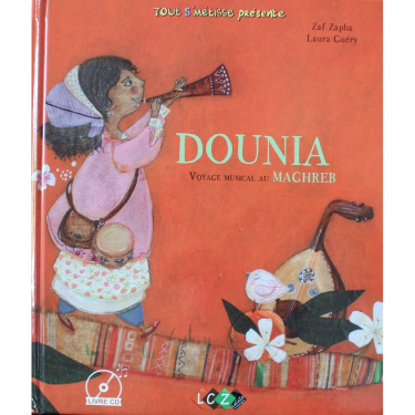 DOUNIA, voyage musicale au Maghreb livre + cd