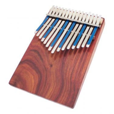 Flat board kalimba 15 keys with pick-up - Hugh Tracey