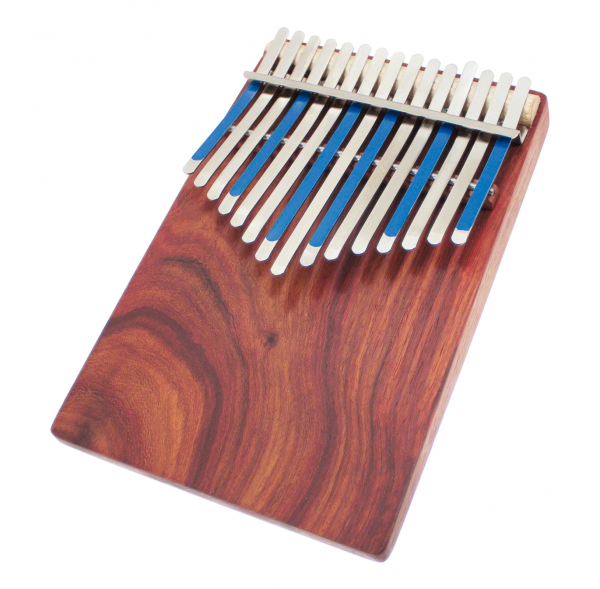 Flat board kalimba with pick-up - Hugh Tracey