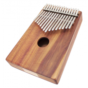Kalimba Alto Chromatic 26 Notes Box-Resonator - H. Tracey