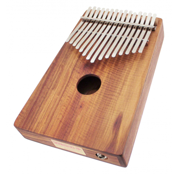 Kalimba Alto Chromatic 26 Notes Box-Resonator with pick up - H. Tracey