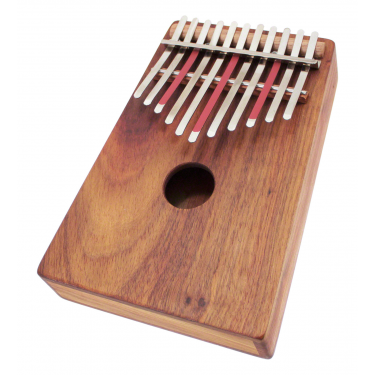 Kalimba sur caisse Alto Pentatonique 11 notes - H. Tracey