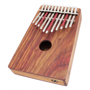 Kalimba sur caisse Electro Alto Pentatonique 11 notes - H. Tracey