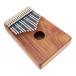 Kalimba sur caisse Celeste Treble 17 notes - H. Tracey