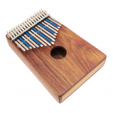 Kalimba sur caisse Treble 17 notes - H. Tracey