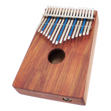 Kalimba sur caisse Electro Treble 17 notes - H. Tracey