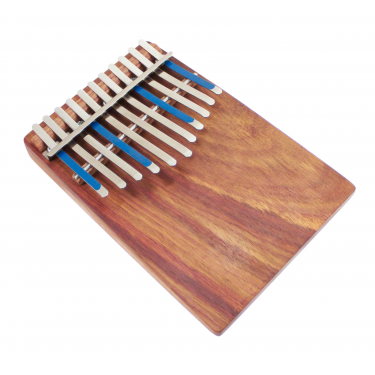 Kalimba Junior Celeste Diatonic 11 Notes Board-Resonator + Pickup