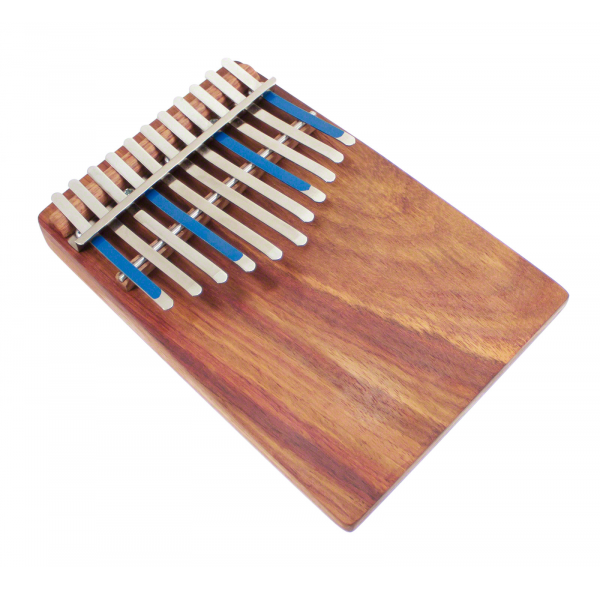 Kalimba Junior Celeste Diatonic 11 Notes Board-Resonator - Hugh Tracey