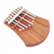 Kalimba 8 Notes Board-Resonator - Hugh Tracey