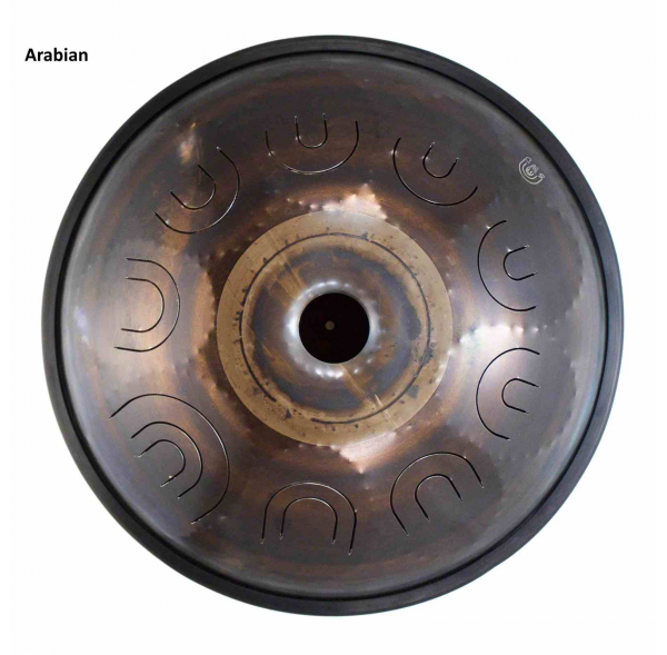 "Steel Tongue Drum SWD 18"" avec 9 notes - Arabian - SWD"