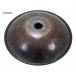 """Steel Tongue Drum 9 notes - 18"""" - E Ionian 2 - SWD"""