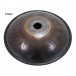 """Steel Tongue Drum 9 notes - 18"""" - F Major - SWD"""