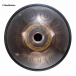 """Steel Tongue Drum 9 notes - 18"""" - E Meditation - SWD"""