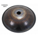 "Steel Tongue Drum 9 notes - 18"" - E Meditation 432Hz - SWD"