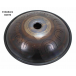 """Steel Tongue Drum 9 notes - 18"""" - D Akebono 432Hz - SWD"""