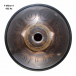 "Steel Tongue Drum 9 notes - 18"" - F Minor 432Hz 4 - SWD"