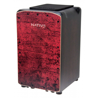 Cajon Pro Plus Red - NATIVO