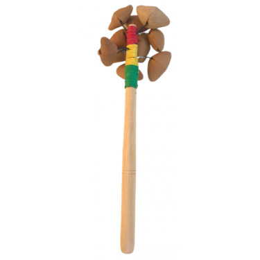 Seed rattle on handle - mini - Roots Percussions