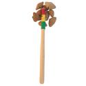 Crécelle sur manche kenari 15/20 cm - Roots Percussions