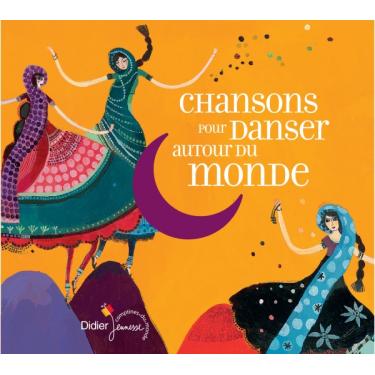 Chanson pou danser autour du monde - livre + cd