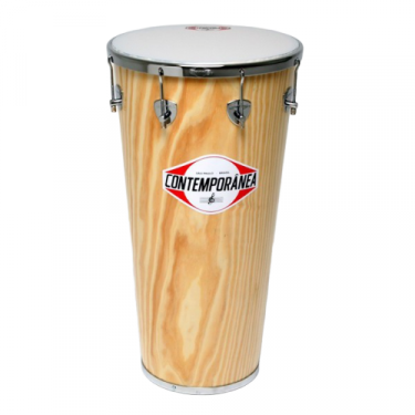 Timbal - 14 in - wood Contemporãnea