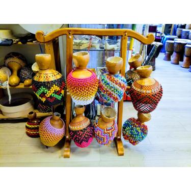 Shekere Brazilian Abé model - small - Roots Percussions