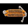 Bracelet de cheville (2 rangs) - La paire
