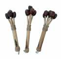 Maracas with blirik seeds - Roots Percussions