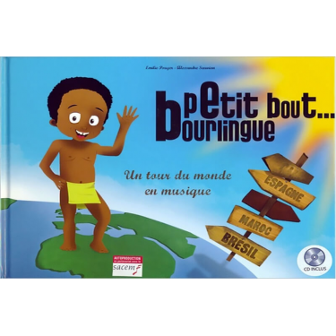 Petit bout Bourlingue Livre + CD