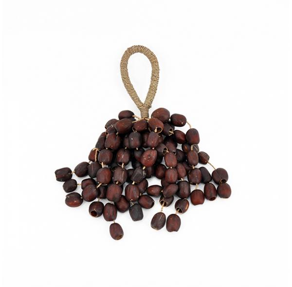 Seed rattle with rope handle - Entada mini