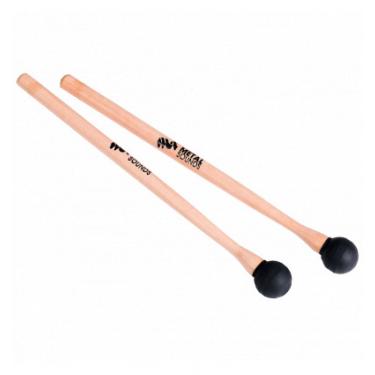 Baguettes pour tongue drum ou tambour en bois