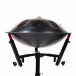 Multi-position stand for handpan or tongue drum