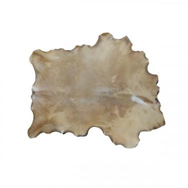 Peau de Cerf parcheminée - 2ème choix - Ø 80 cm