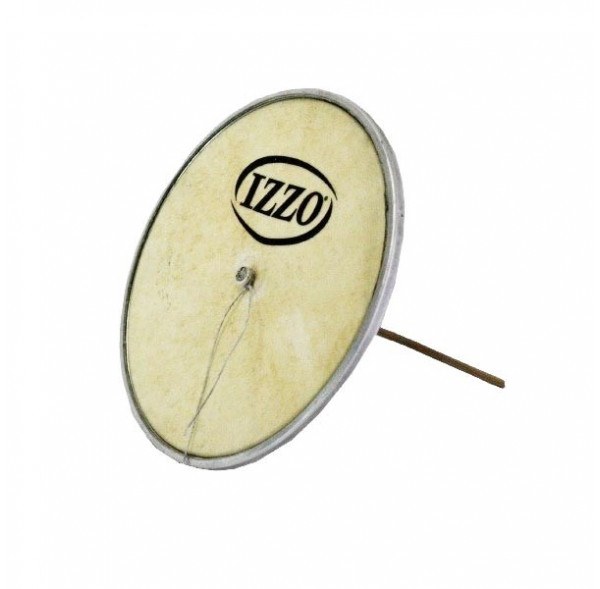 """Cuica head - natural hide - (6"""" to 10"""") - Izzo"""