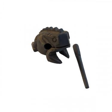 Guiro frog 6 cm - Black wood - Roots Percussions