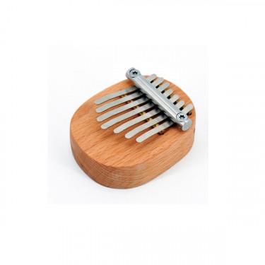 Mini flat board kalimba - 7 keys with pocket - Roots