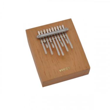 Sanza (kalimba) sur table 10 lames - pentatonique avec housse de transport- Roots