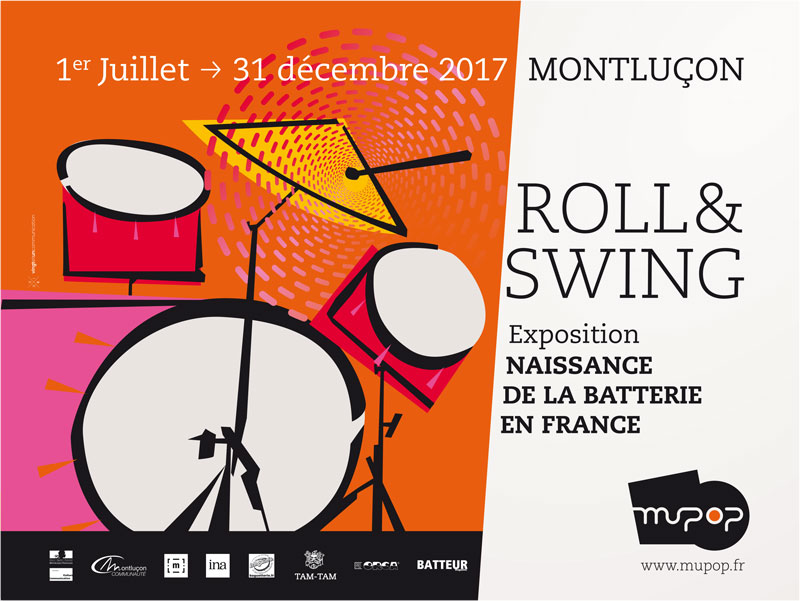 Roll & Swing Exposition Batterie (drums)