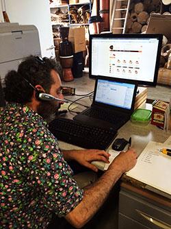 Service client Djoliba Percussions