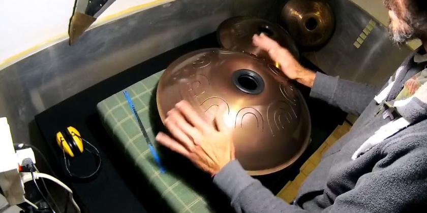 Steel tongue drums Sound Watching Drum