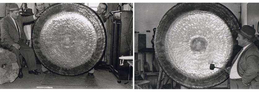 Histoire des gongs Paiste
