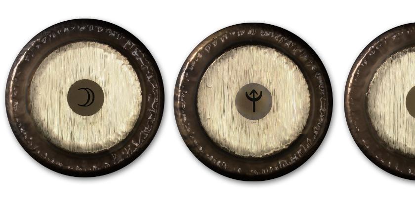 Paiste Planet Gongs : des gongs aux fréquences planétaires